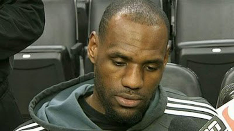 Lebron James Reveals New Hairline
