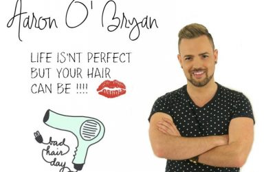 Celebrity Hair Stylist Aaron O'Bryan is Back